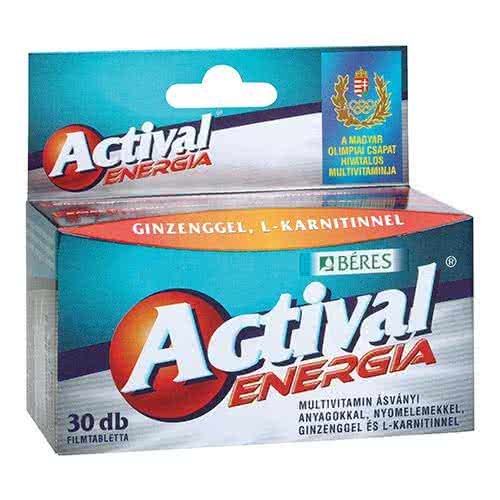 Béres Actival Energia 30 tab.