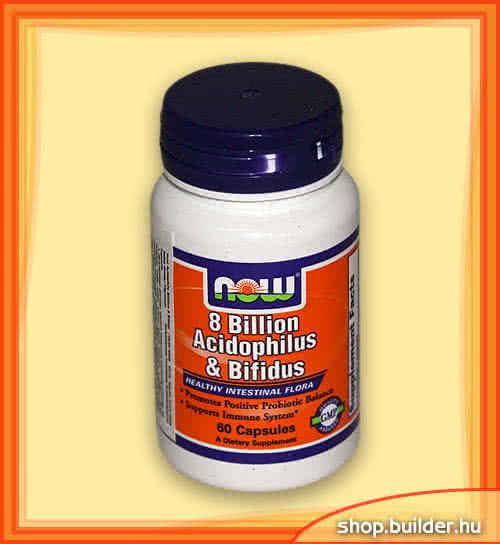 Now Foods Acidophilus és Bifidus 60 kap.