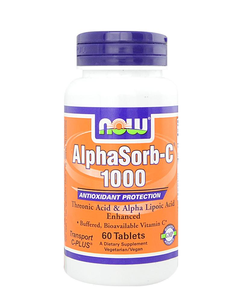 Now Foods AlphaSorb-C ™ 1000 60 tab.