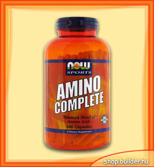 Now Foods Amino Complete 360 kap.
