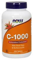 Now Foods Vitamin C-1000 (250 kap.)