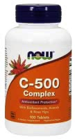 Now Foods Vitamin C-500 Complex (100 tab.)