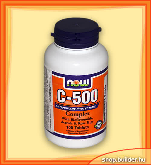 Now Foods Vitamin C-500 Complex 100 tab.