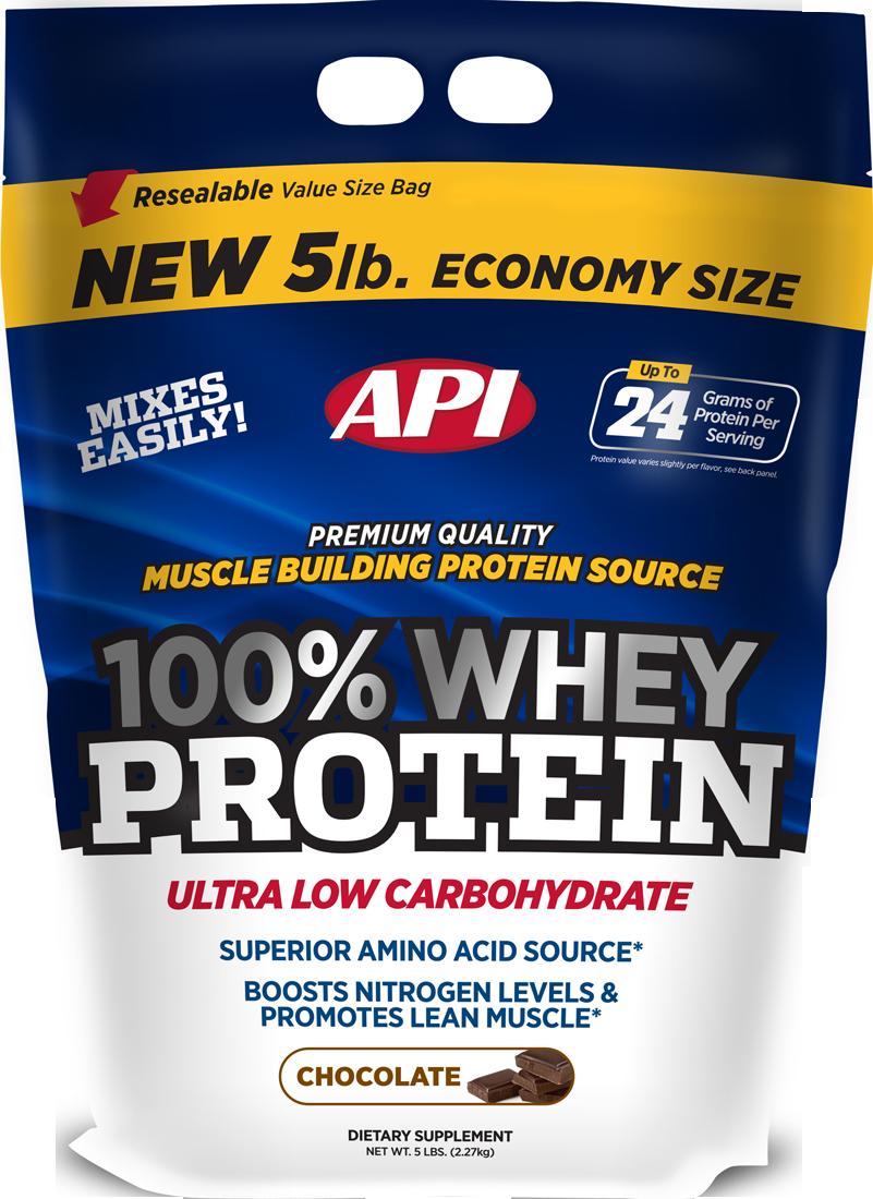 API 100% Whey Protein 2,27 kg