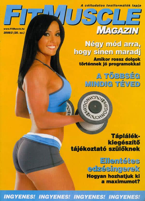 Könyvek/Magazinok FitMuscle Magazin 20. 2008/2.
