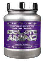 Scitec Nutrition Isolate Amino (500 kap.)