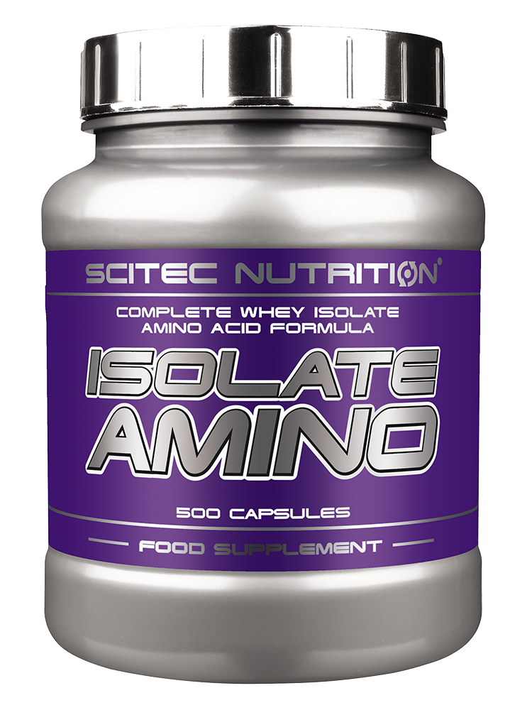 Scitec Nutrition Isolate Amino 500 kap.