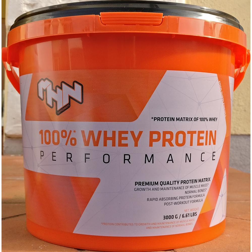 MHN Sport 100% Whey Protein Performance 3 kg