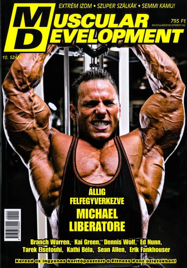 Könyvek/Magazinok Muscular Development 10.