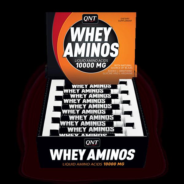 QNT Sport Whey Aminos Liquid Ampulles 20x30ml