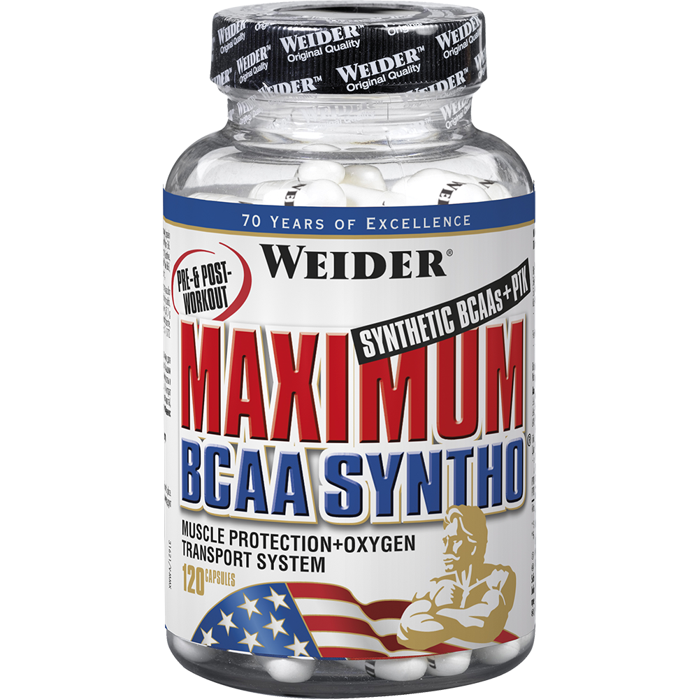 Weider Nutrition Maximum BCAA Syntho 240 kap.