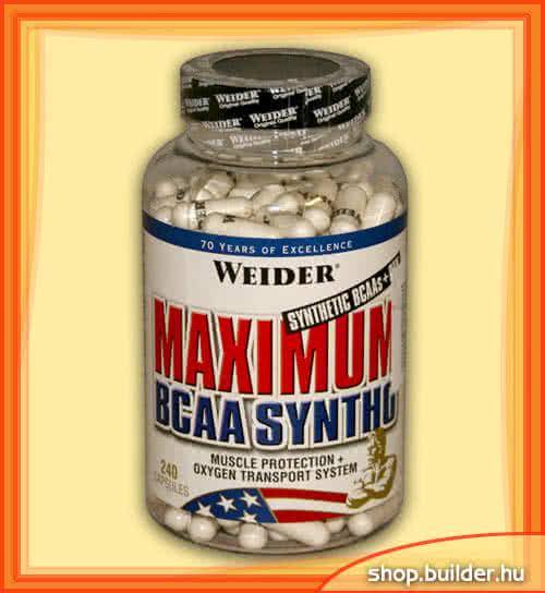 Weider Nutrition Maximum BCAA Syntho 240 kap.