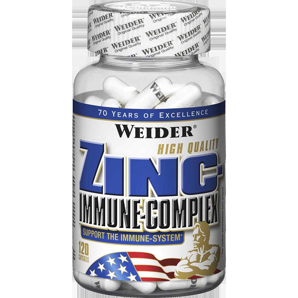 Weider Nutrition Zinc-Immune-Complex 120 kap.
