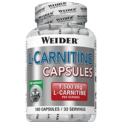 Weider Nutrition L-Carnitine Capsules 100 kap.