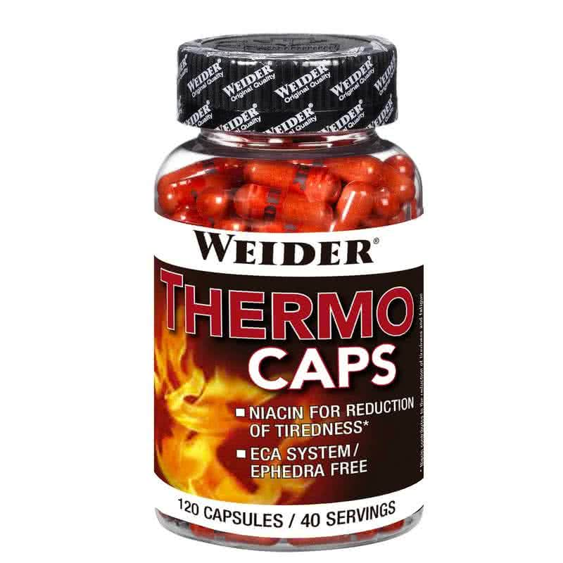 Weider Nutrition Thermo Caps 120 kap.