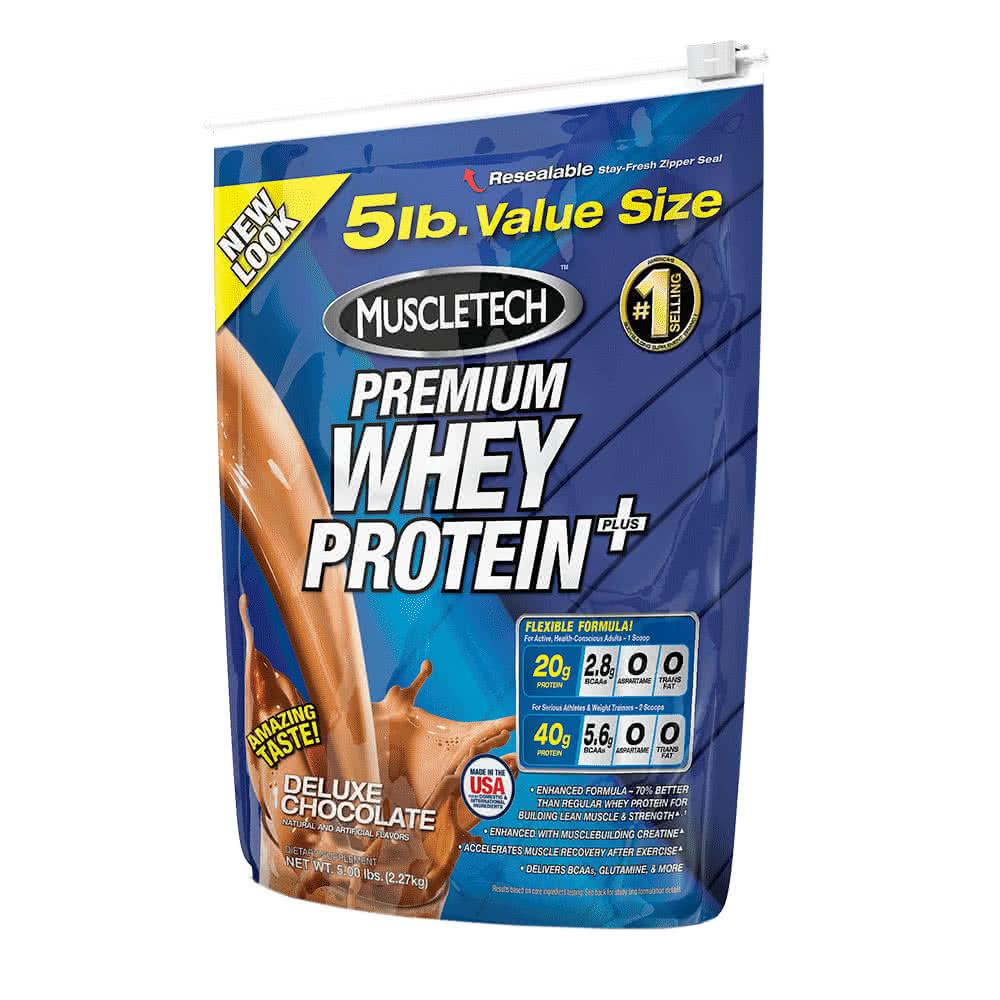 MuscleTech 100% Premium Whey Protein Plus 2,72 kg