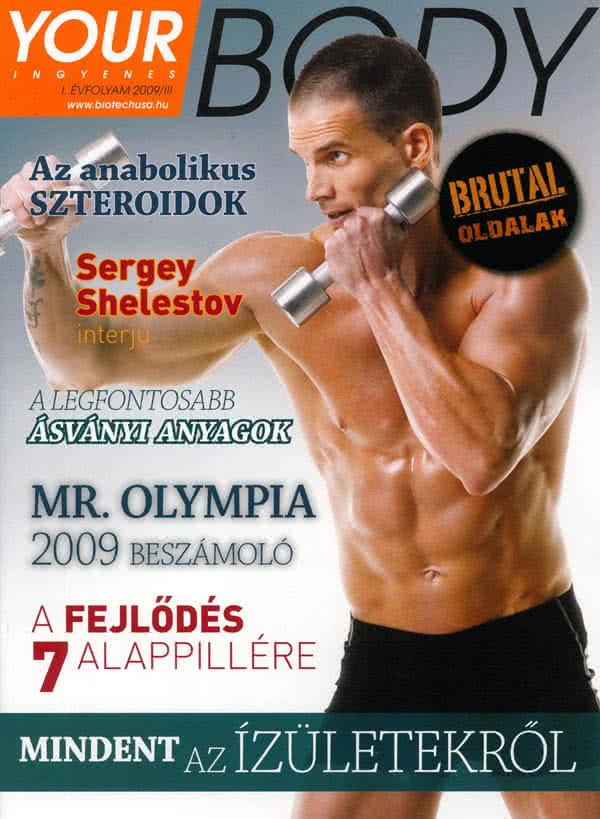 Könyvek/Magazinok Your Body 2009/3.