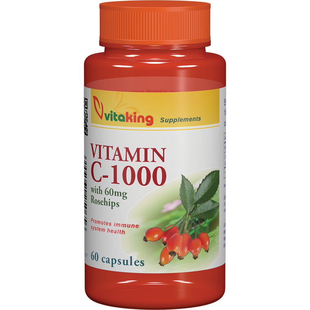 VitaKing Vitamin C-1000 Caps 60 kap.
