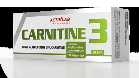 ActivLab Carnitine 3 120 kap.