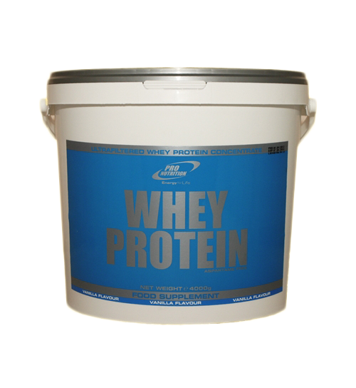 Pro Nutrition Whey Protein 4 kg