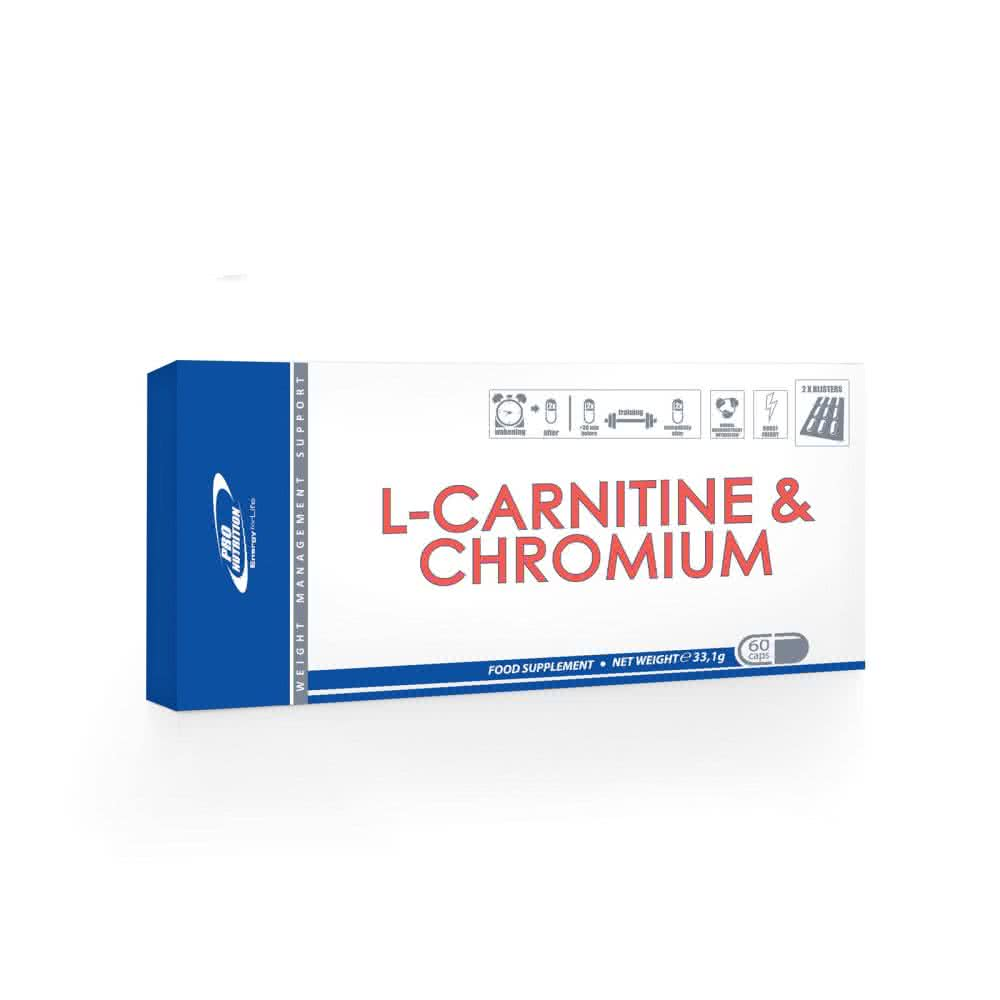 Pro Nutrition L-Carnitine & Chromium 60 kap.