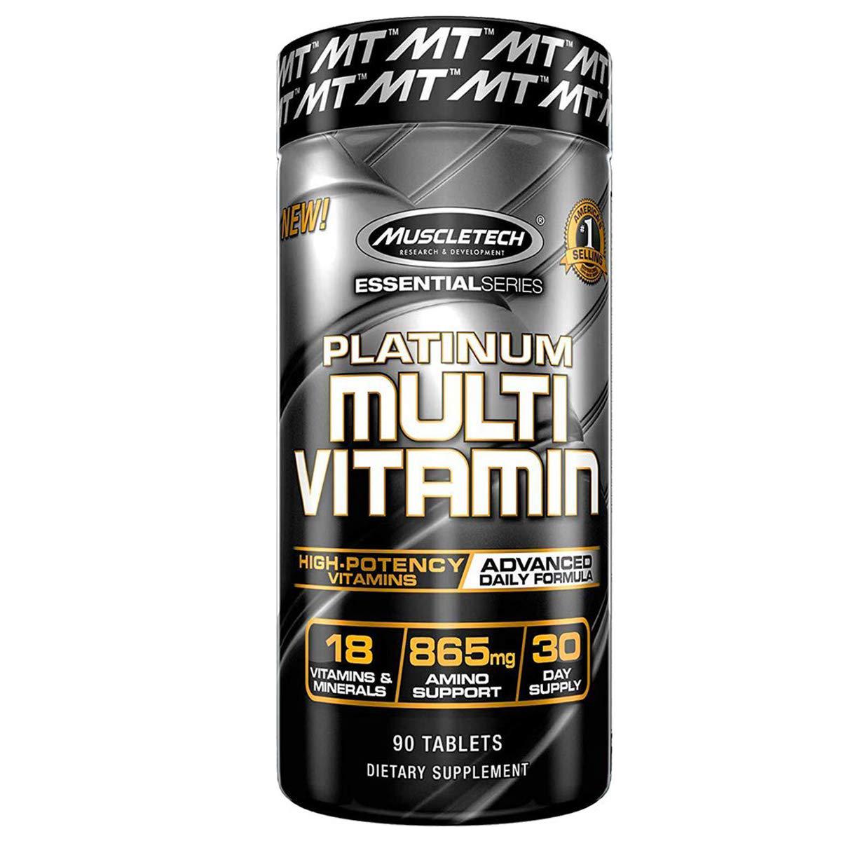 MuscleTech Platinum Multi Vitamin 90 kap.