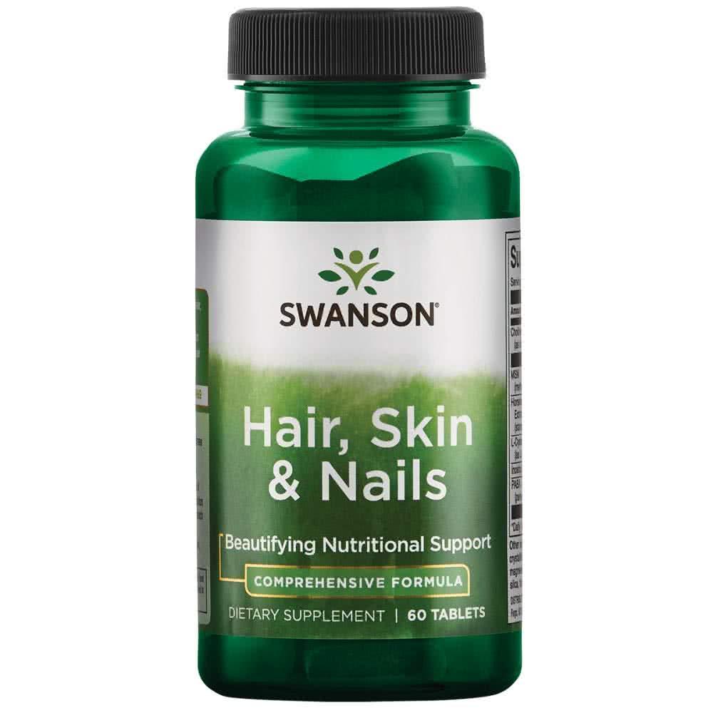 Swanson Hair Skin Nails Formula 60 tab.