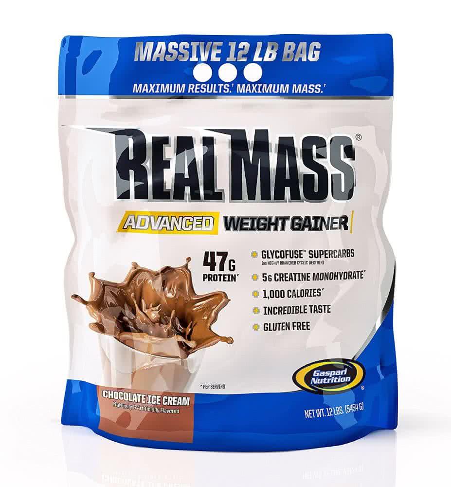 Gaspari Nutrition Real Mass Advanced 5,454 kg