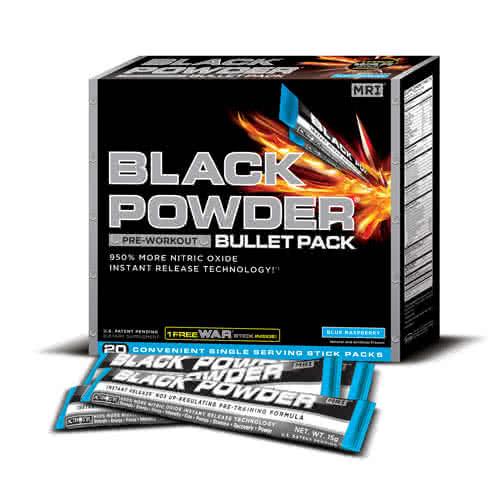 MRI Performance Black Powder Sticks 20x15 g
