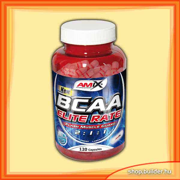 Amix BCAA Elite Rate 120 kap.