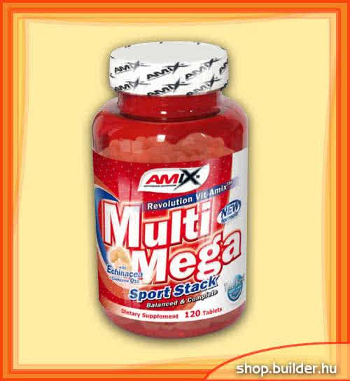 Amix Multi Mega Sport Stack 120 tab.
