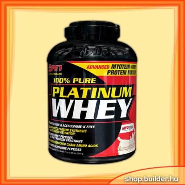 San Nutrition 100% Pure Platinum Whey 2,24 kg