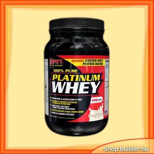San Nutrition 100% Pure Platinum Whey 0,897 kg