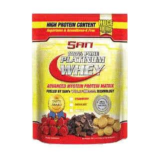 San Nutrition 100% Pure Platinum Whey 4,5 kg
