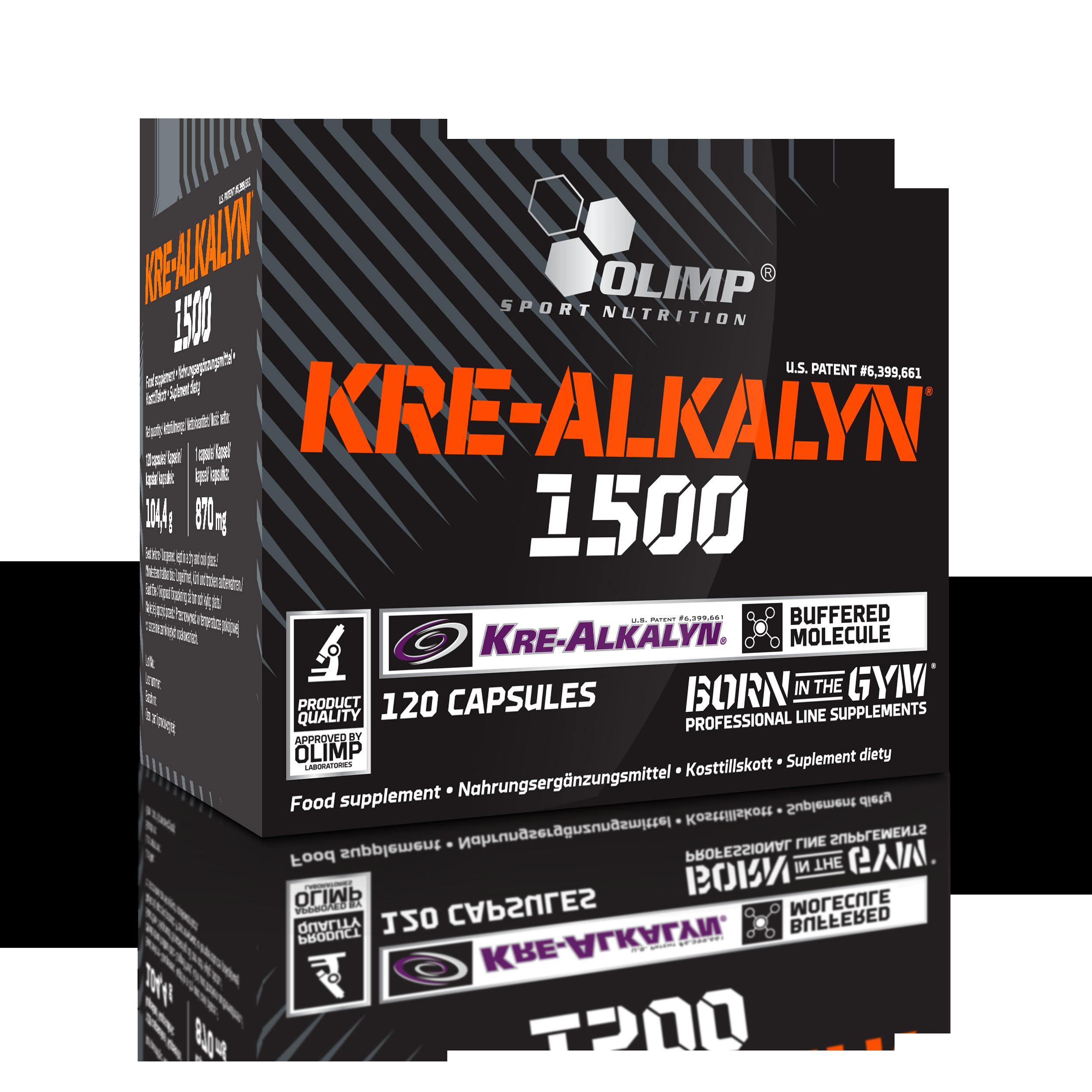 Olimp Sport Nutrition Kre-Alkalyn® 1500 120 kap.