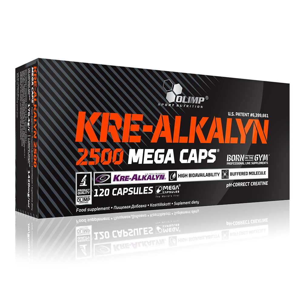 Olimp Sport Nutrition Kre-Alkalyn® 2500 Mega Caps 120 kap.