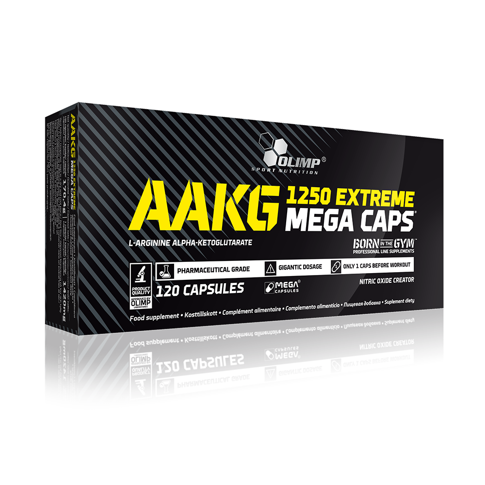 Olimp Sport Nutrition AAKG Extreme Mega Caps 120 kap.