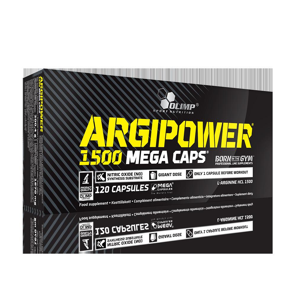 Olimp Sport Nutrition Argipower 1500 Mega Caps 120 kap.