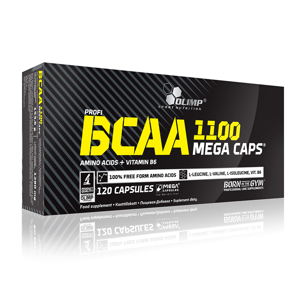 Olimp Sport Nutrition BCAA Mega Caps 120 kap.