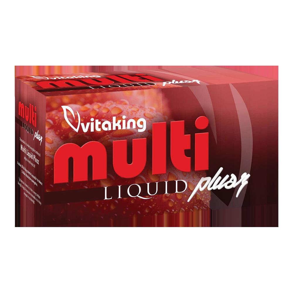 VitaKing Multi Liquid Plusz 30 kap.