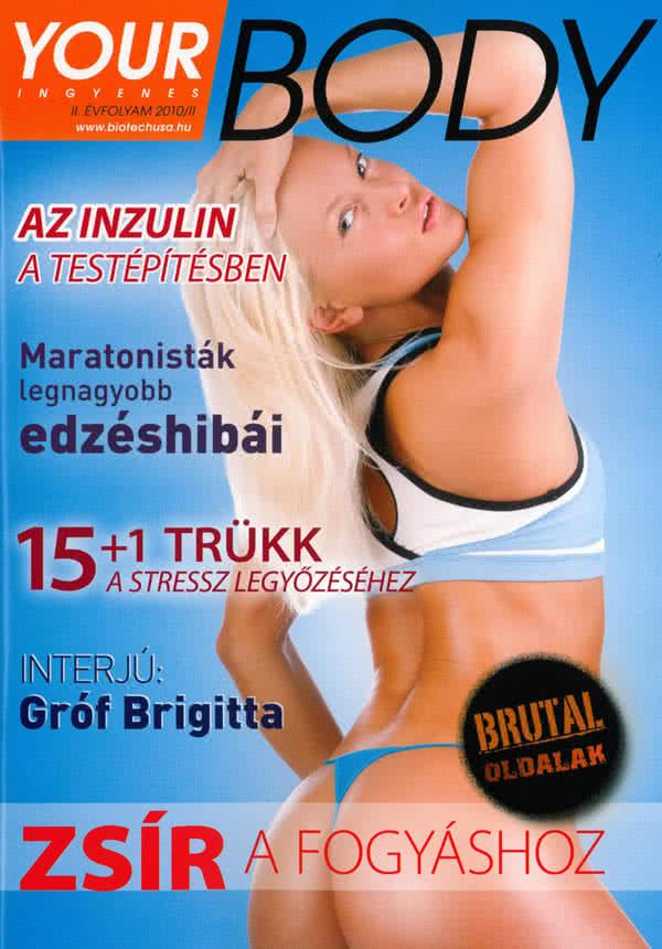 Könyvek/Magazinok Your Body 2010/2.