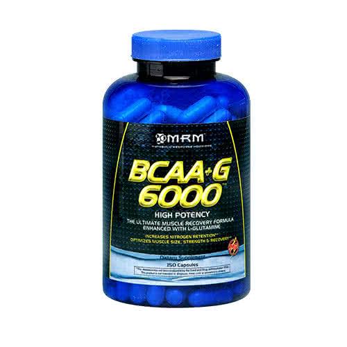 MRM BCAA+G 6000 150 kap.