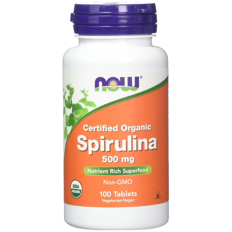 Now Foods Spirulina 100 tab.