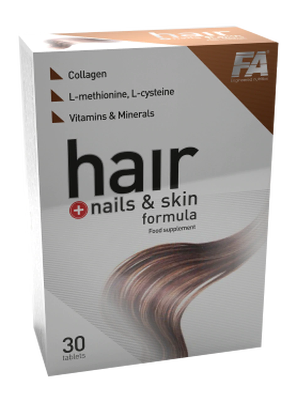 Fitness Authority Hair + Nails and Skin Formula 30 tab.