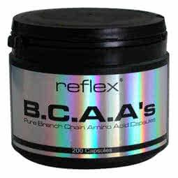 Reflex Nutrition BCAAs 200 kap.
