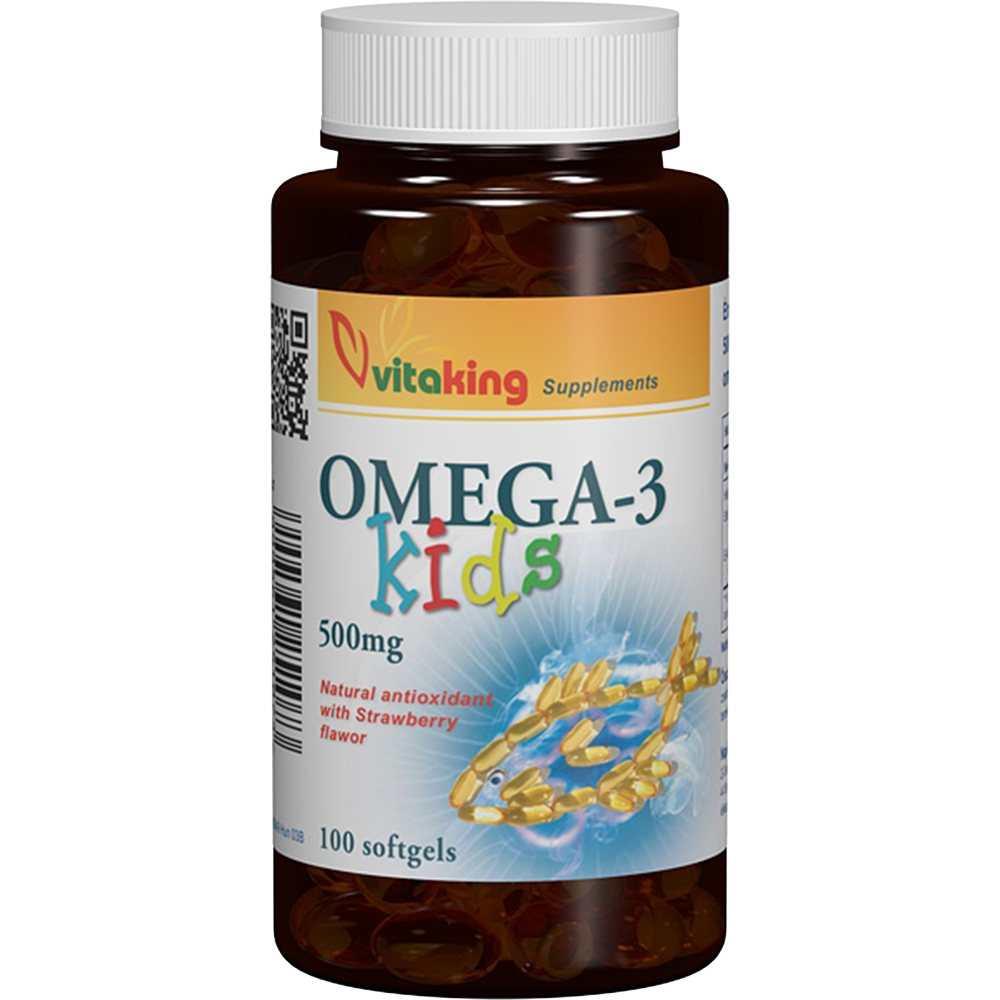 VitaKing Omega-3 Kids 100 g.k.