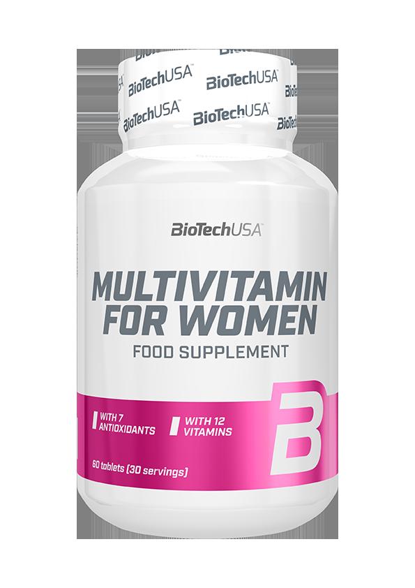 BioTech USA Multivitamin for Women 60 tab.