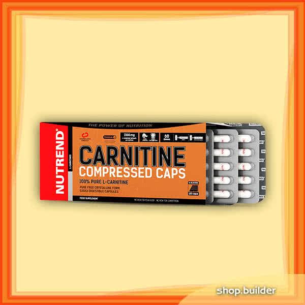 Nutrend Carnitine Compressed Caps 120 kap.