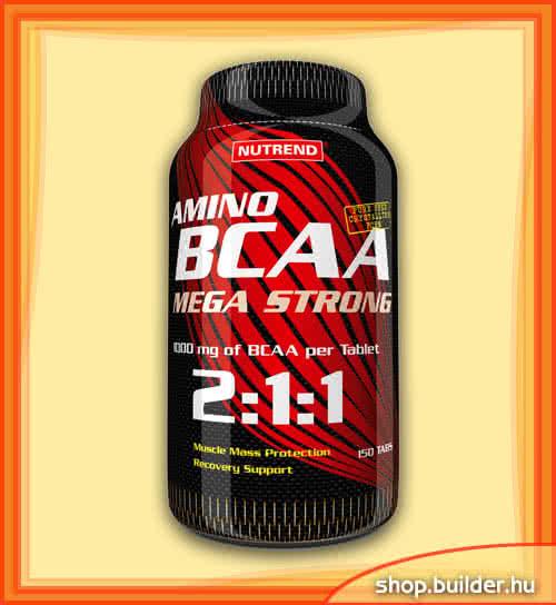Nutrend Amino BCAA Mega Strong 150 kap.