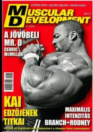 Könyvek/Magazinok Muscular Development 12.